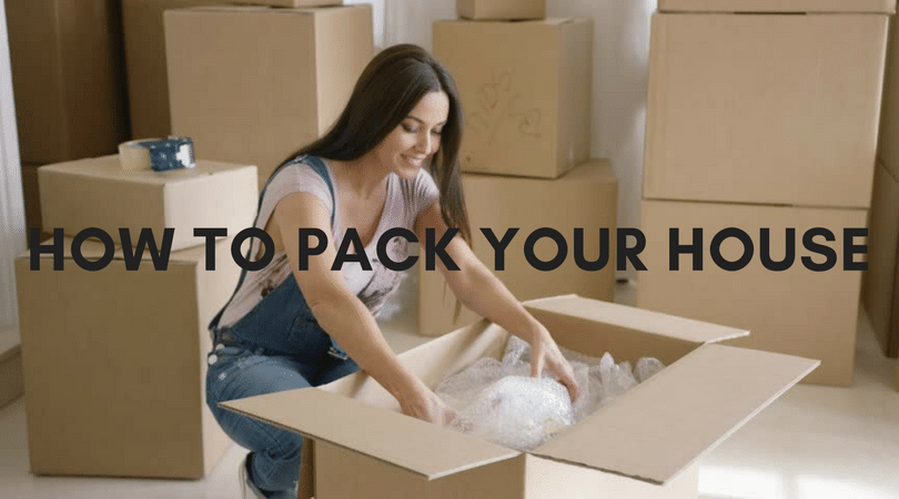 How To Pack Your House