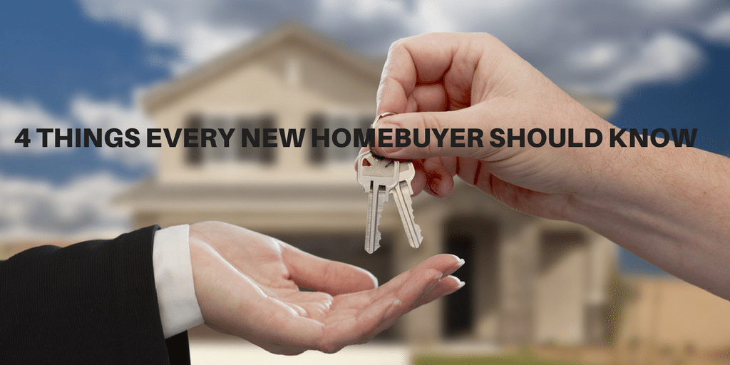 4 Things For New Homebuyer
