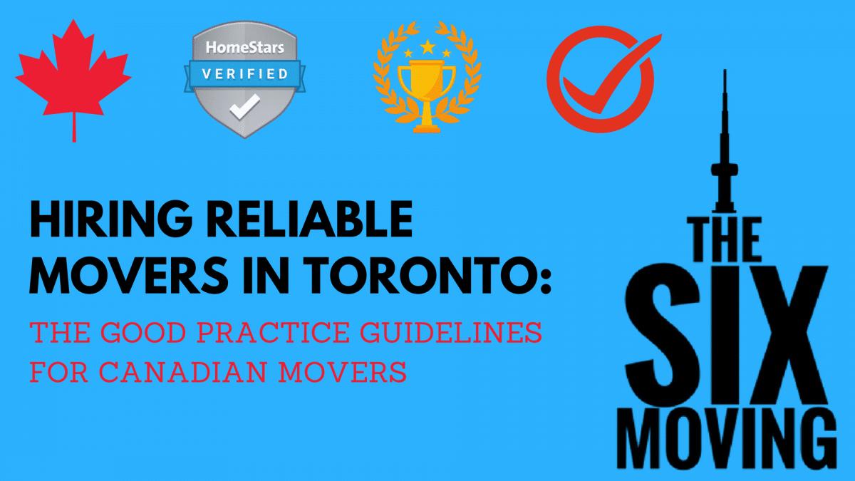 Reliable Mover Toronto