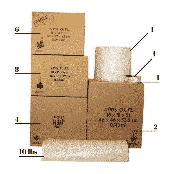 Studio_Bachelor Packing Kit