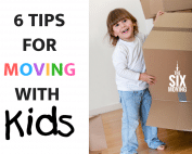 6 Tips For Moving With Kids