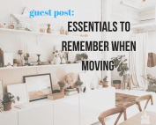 Essentials To Remember When Moving