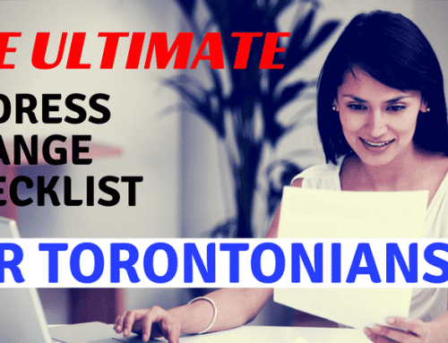 Moving Within Toronto? You Will Need This Address Change Checklist
